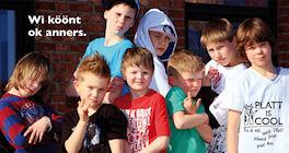 Foto Kinder Platt is cool - wi köönt ok anners©Sonja Katrin Sancken