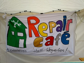 Banner Repair-Café Wildeshausen © Landkreis Oldenburg