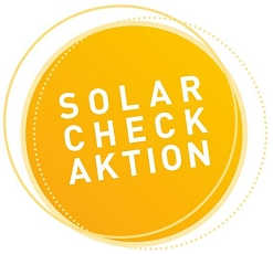 Button Solarcheck © Landkreis Oldenburg